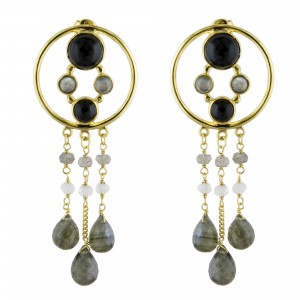 Dreams Catcher Earrings Black