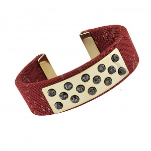 Lorenza Bangle Red
