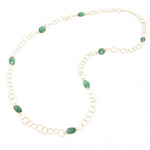 Marisa Necklace Dark Green