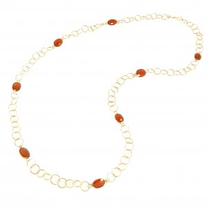 Marisa Necklace Orange