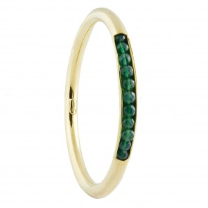 Sofia Bangle Green