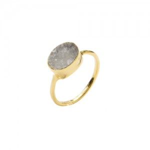 St Tropez Stackable Ring White